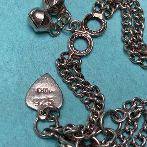 Jewelry - Sterling Silver Anklet Bracelet Bells